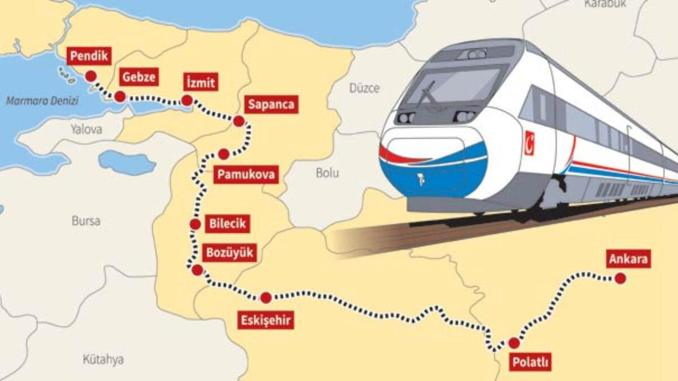 Ankara Istanbul High Speed ​​Train