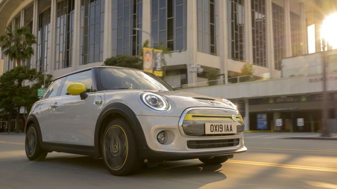 First Electric Mini Cooper Introduced in Frankfurt