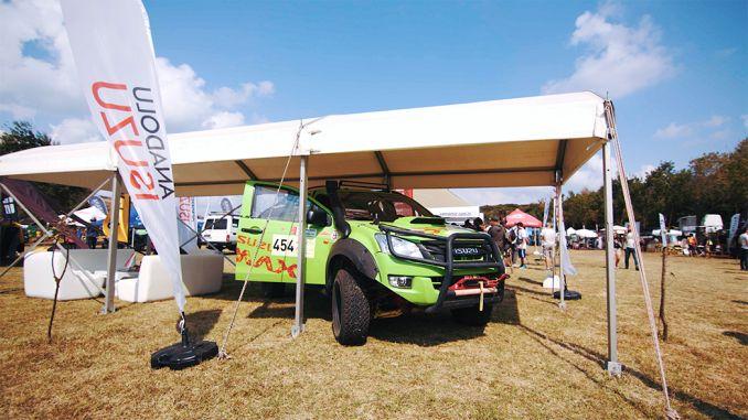 Isuzu D Max Outdoor participó en el festival