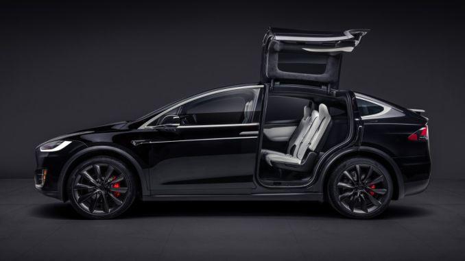 New Style Tesla Model X