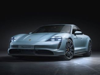 the newest member of porschen's all-electric sports car family