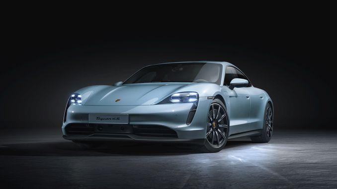 porschenin tamamen elektrikli spor otomobil ailesinin en yeni uyesi taycan s