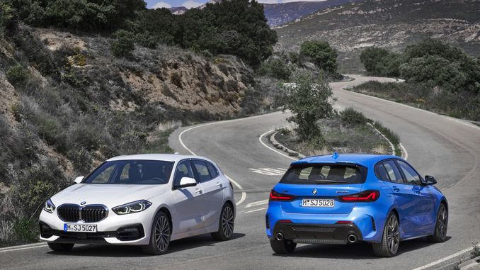 1 new BMW series offered for sale in Turkey