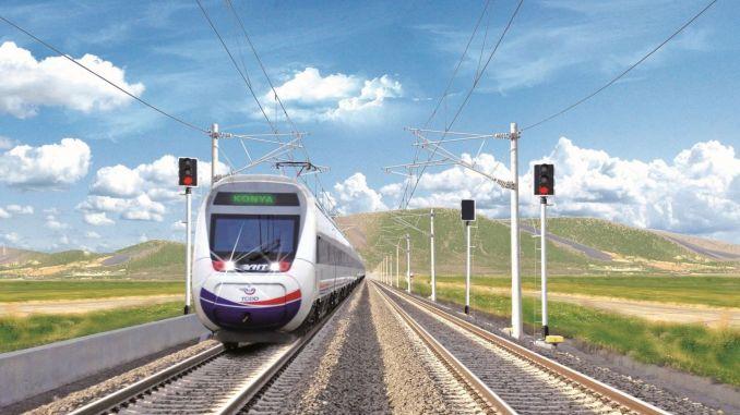 konya karaman high speed train
