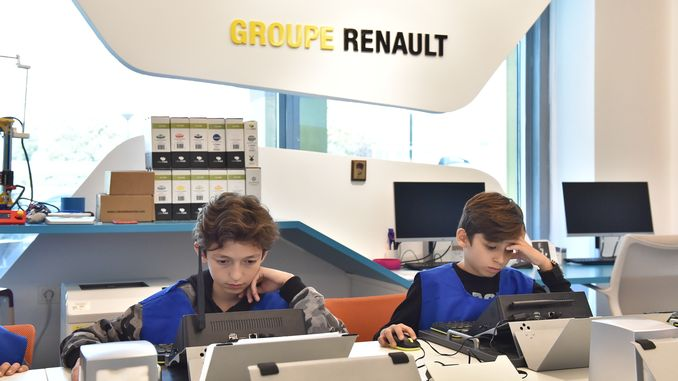oyak renault reopened its doors to the families of its employees