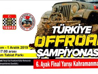 Offroad meistrivõistlused Türgis KahramanMaras