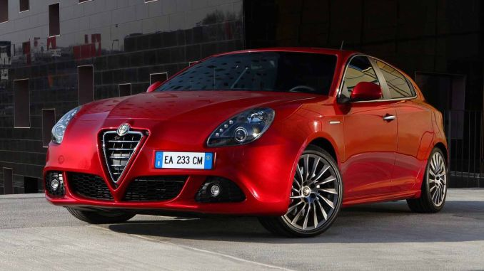Does the production of Alfa Romeo Giulietta Cease