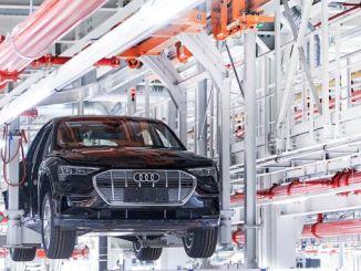 Audi Electric Car stoppar produktionen av E tron