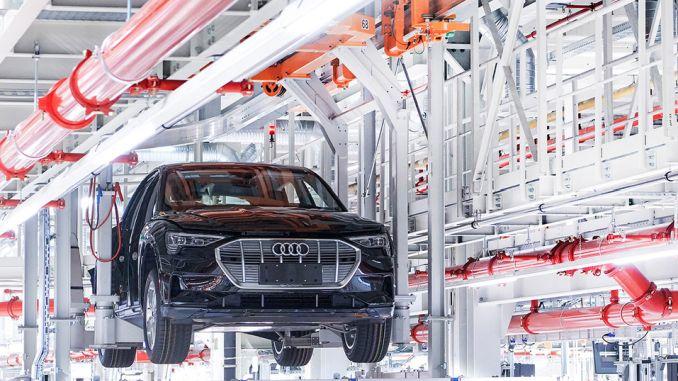 Audi Elektrikli Otomobili E tron Üretimini Durdurdu