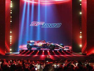 Ferrari Formula aracı SF1000
