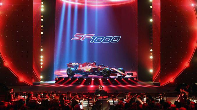 Ferrari Formula vehicle SF1000