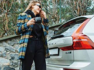 Oli uus reklaaminägu Volvo Serenay Sarikaya Türgi