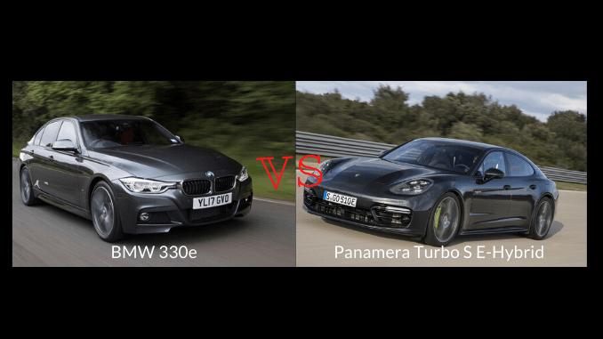 Panamera Turbo S E-Hybrid, BMW 330e Sadece Elektrikli Motorları İle Yarışıyor