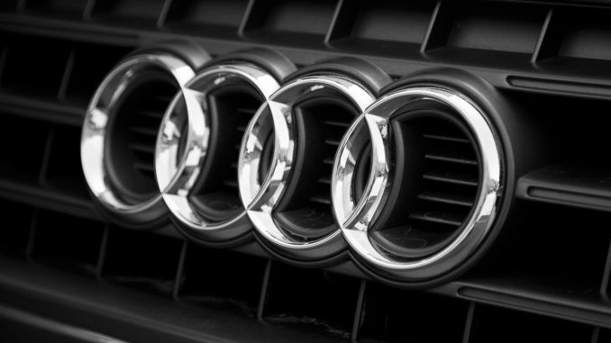 What does the Audi logo mean?