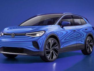 Bilder av den nye Volkswagen Electric ID Crossover ankommer