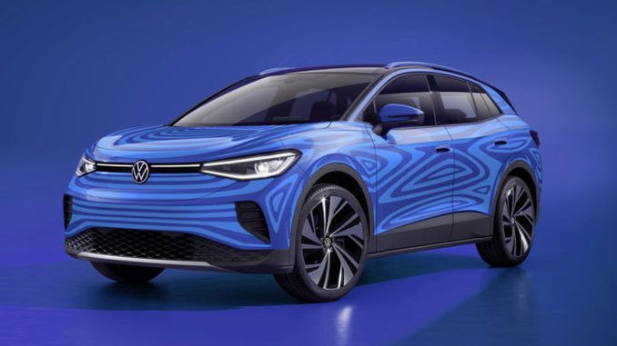 New Volkswagen Electric ID Crossover Photos Arrived