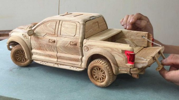 Watch How To Model Ford F With Wood