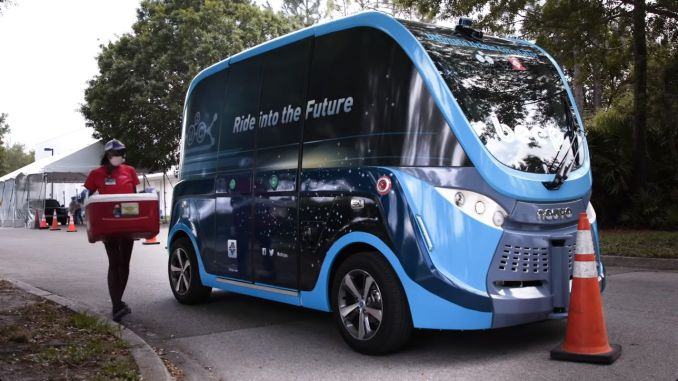 Coronavirus Tests are Carried by Autonomous Vehicles