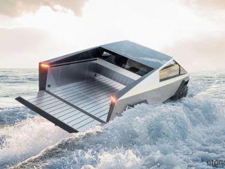 Elon Musk Tesla Cybertruck Modelinin Yüzebileceğini Söylüyor