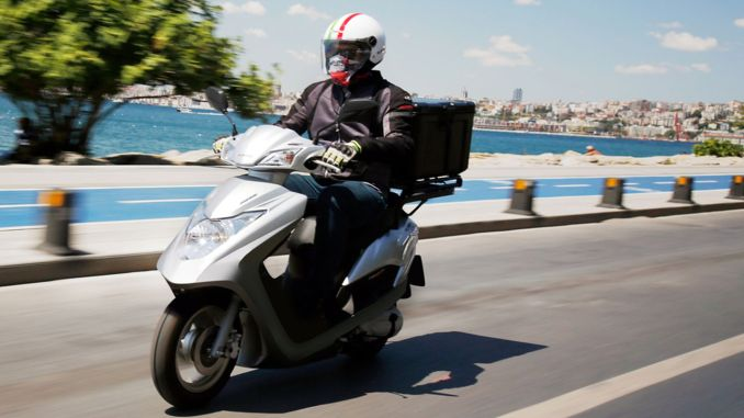 Corona Virus Support For Motorcycle Couriers From Honda