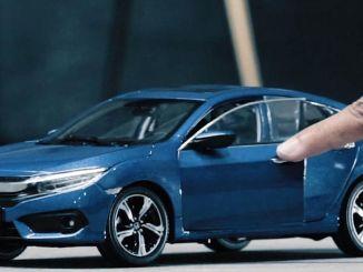 Hoia kodus Honda mänguasjaautode kommertsfilmi