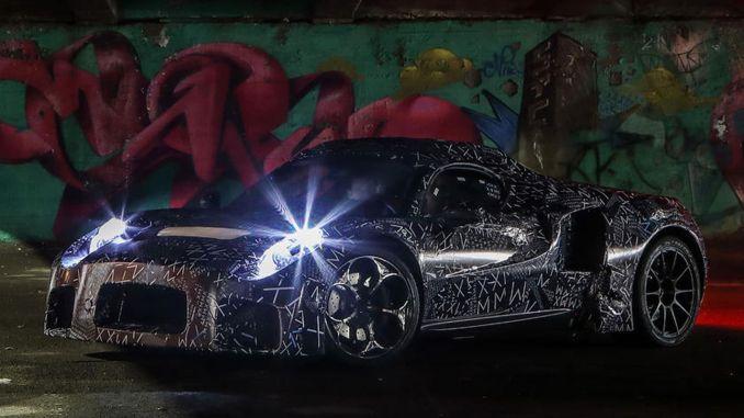 Maserati MC photos