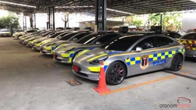 They Spend Million Dollars on Tesla Brand Police Cars