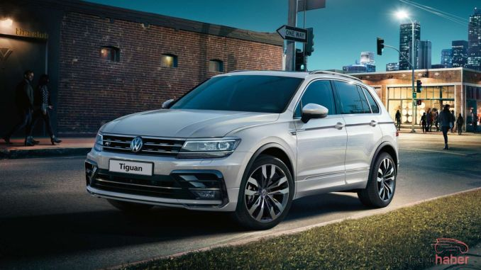 Volkswagen Tiguan is produced more than million