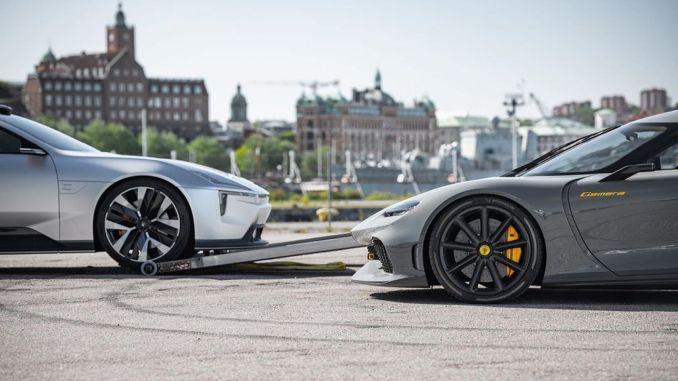 Koenigsegg Gemera ve Polestar Precept Concept Modelleri Aynı Karede Görüntülendi