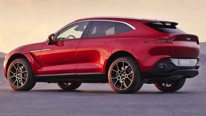 the first SUV aston martini turkiyede before the end of the year dbx