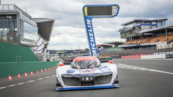 michelin and symbio fuel engine contributes to motor sports with technology
