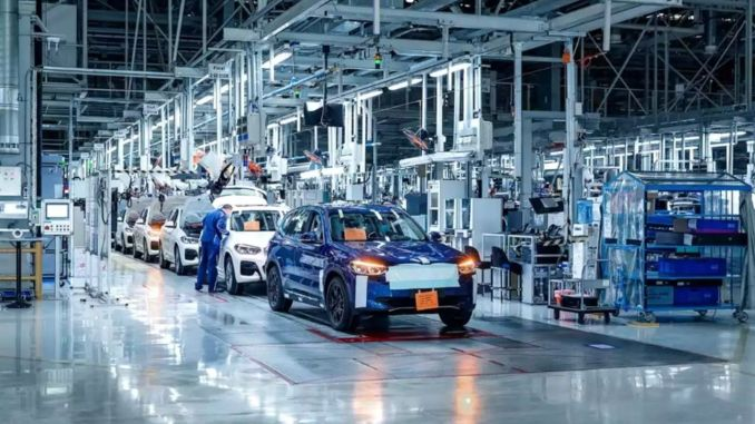 new bmw ix finished final preparations for serial production
