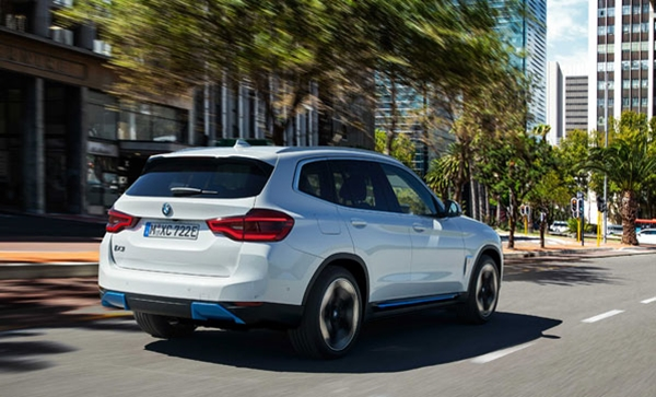 BMW İlk Elektrikli Araç X' İ