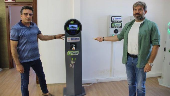 national car toggun domestic charging unit appeared