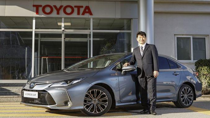Toyota celebrates the automotive industry turkey years