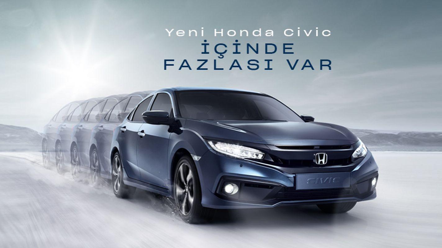 Honda Civic Sedan Ağustos Kampanyası