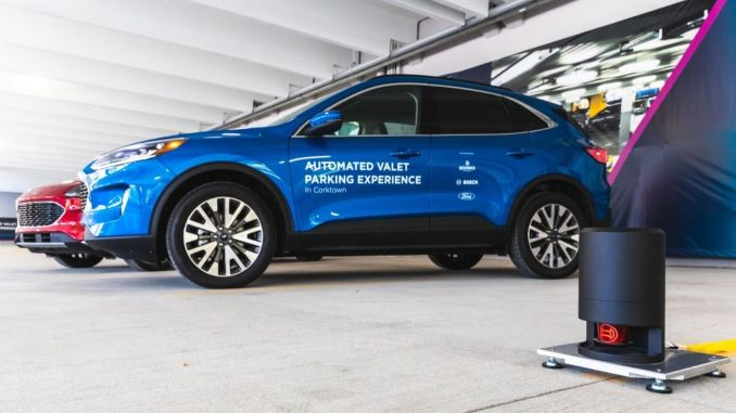 Ford, Bosch and Bedrock Introduce Autonomous Vale Service
