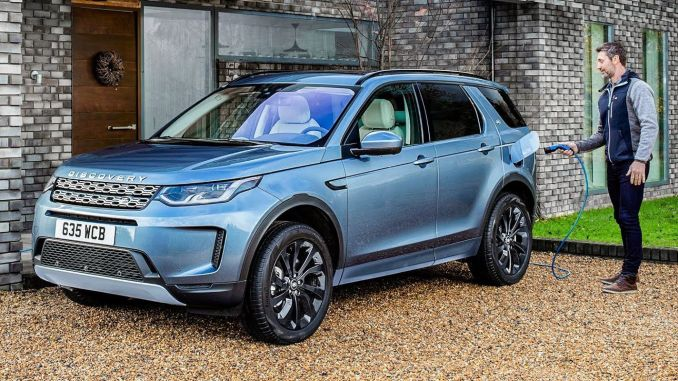 Land Rover Discovery Sport Plug-In Hybrid Engine More Powerful, More Efficient