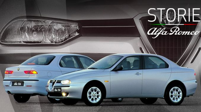 Storie Alfa Romeo Web Series Continues with 156 Model