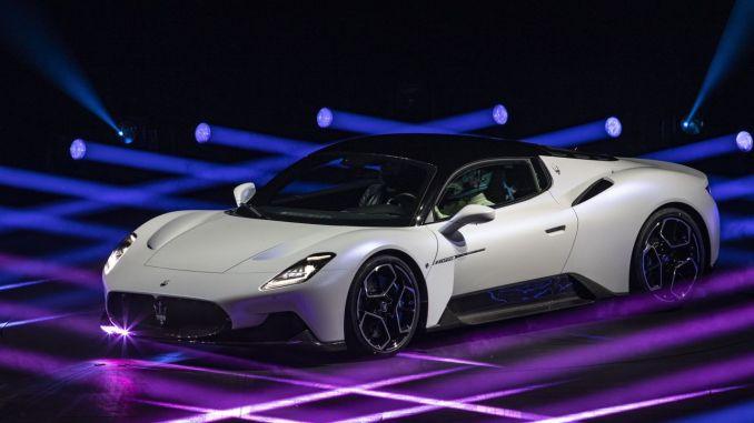 Yeni Neslin Süper Spor Otomobili Maserati MC20 Tanıtıldı