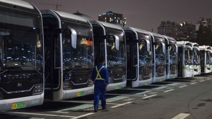 Electric Buses In China Reach 60 Percent Of The Total