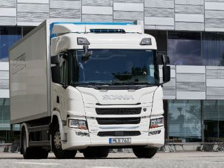 Hybrid Engine Scania Hit the Road