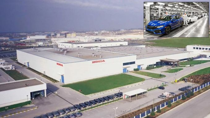 Honda Automobile Factory in Kocaeli is Closed!