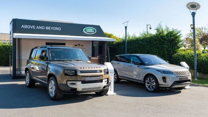 Land Rover Pop-Up Showroom