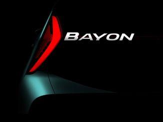 hyundai will produce new suv model name bayon