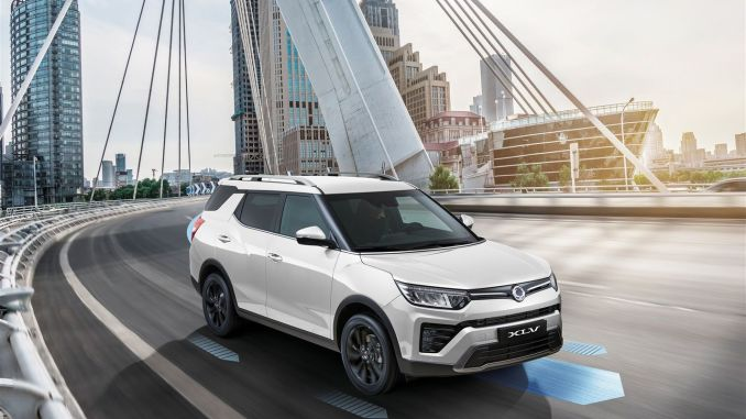 South Korean SsangYong XIV's new model, may in a new way in turkey