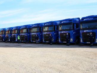 arkas logistics מוסיף משאיות פורד חדשות f max לצי שלה