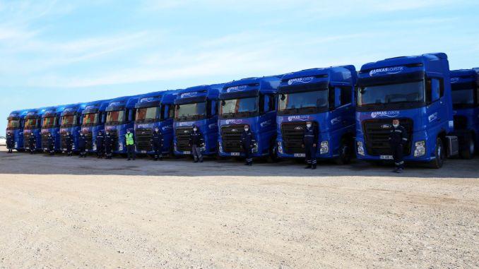 arkas logistics adds new ford trucks f max to its fleet