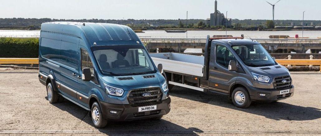 أطنان من سيارات Ford Transit الجديدة وشاحنة turkiyede
