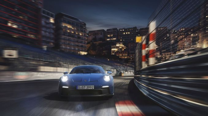 new porsche gt flawless and exciting